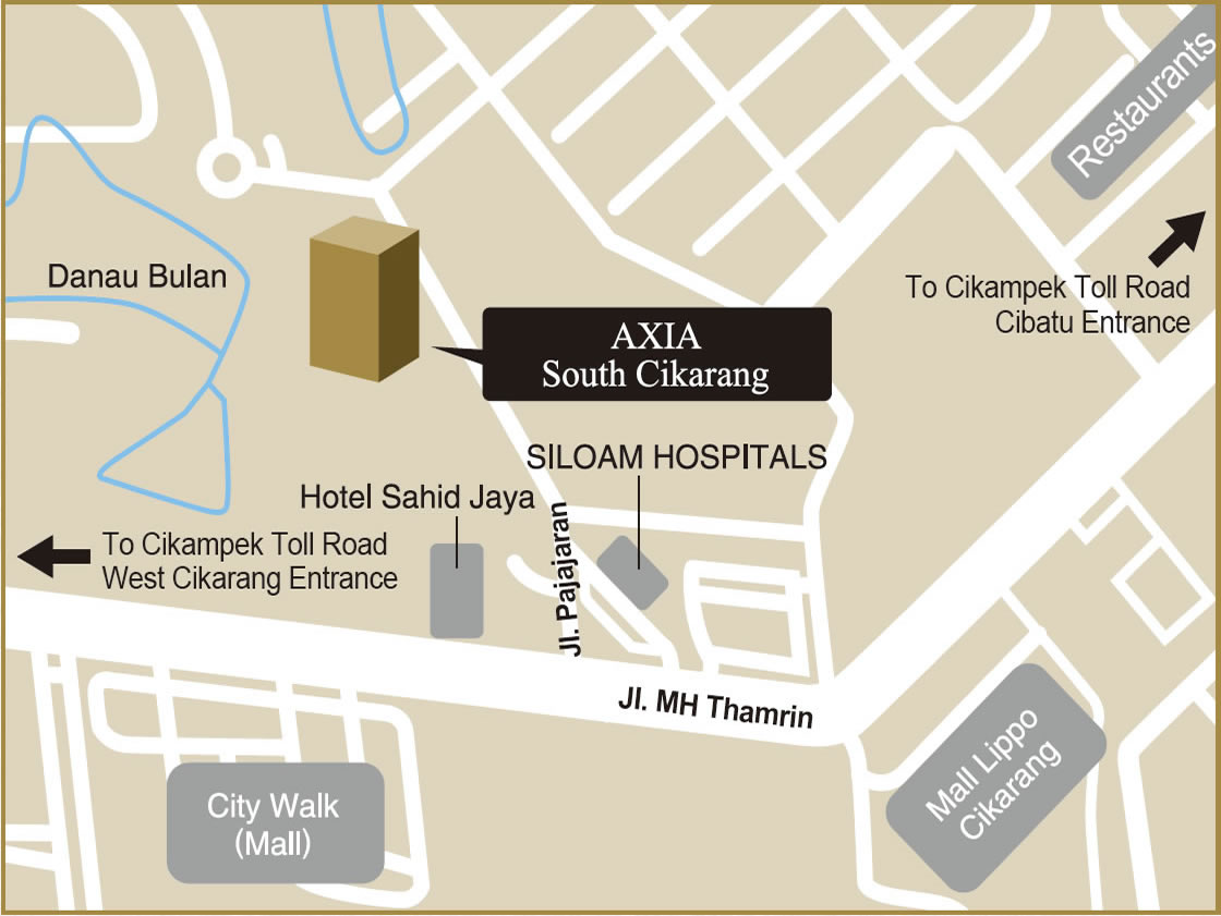 AXIA South Cikarang|Location
